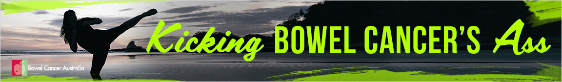 1152x168 BCA Banner Ad Kicking Bowel Cancer Ass