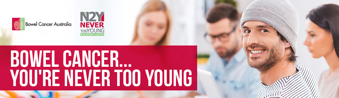 Never Too Young - Bowel Cancer in Younger People