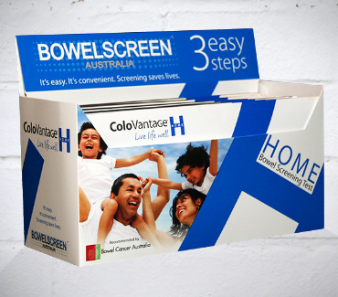 Screen for Bowel Cancer ::: Order a bowel cancer screening test