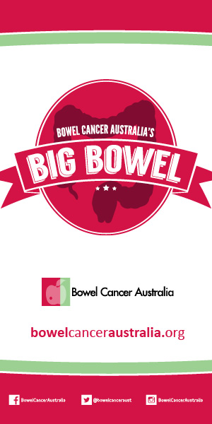 Banner Bowel Cancer Australia Big Bowel