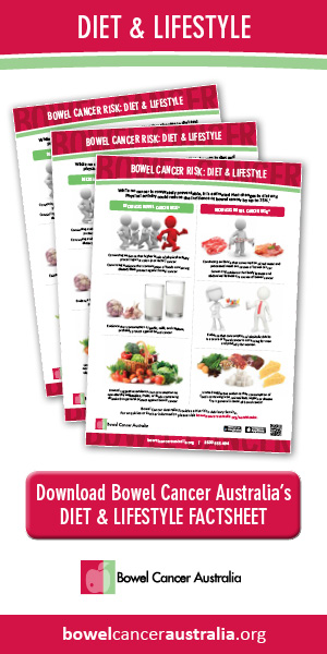 Bowel Cancer Australia Diet and Lifestyle