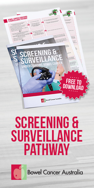 Banner Bowel Cancer Australia Screening Surveillance 300