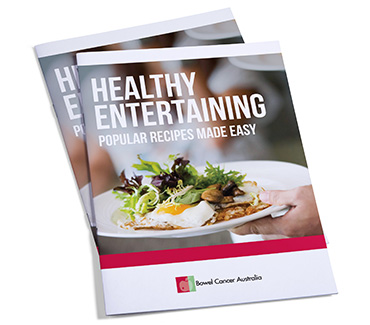 Booklet Bowel Cancer Australia Healthy Entertaining 370
