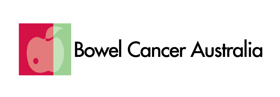 Bowel Cancer Australia logo wht space