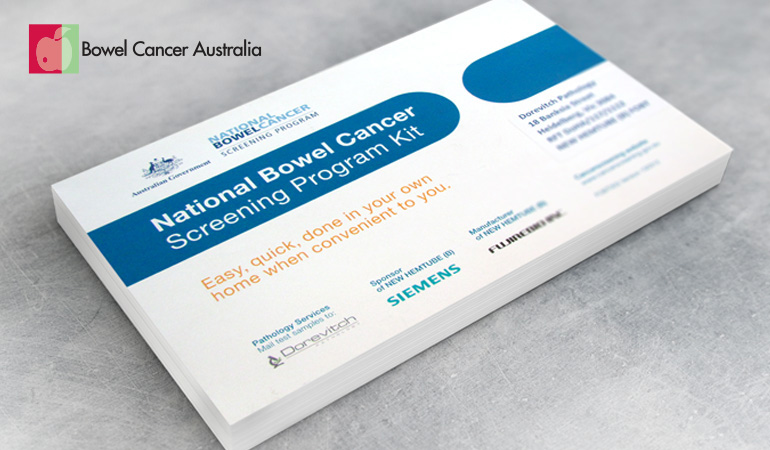 Bowel Cancer Australia Advocacy Australian Government 770