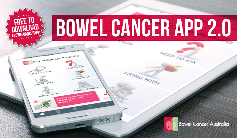 Bowel Cancer Australia Advocacy Never too young Bowel Cancer App 770
