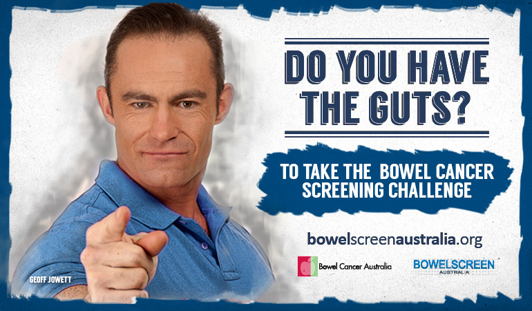 Bowel Cancer Australia Awareness Do you have the guts 770