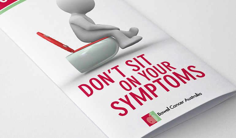 Bowel Cancer Australia Awareness Dont Sit On Your Symptoms 770