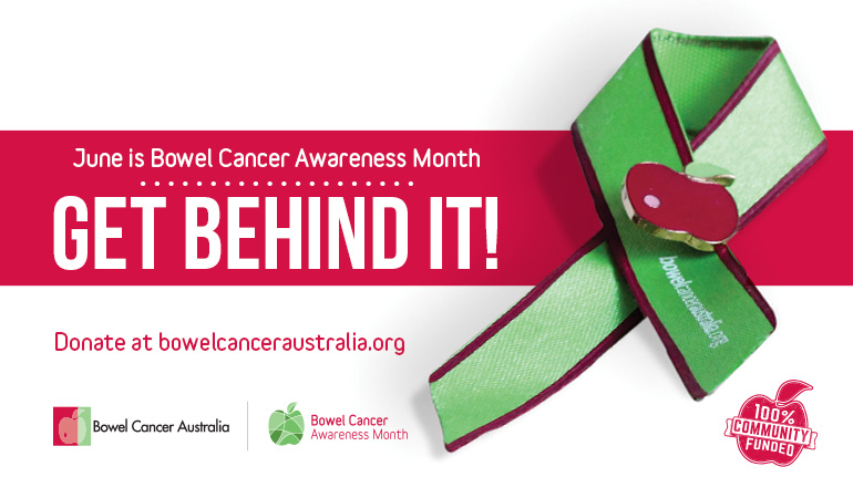 Bowel Cancer Australia Awareness Month 2017 770