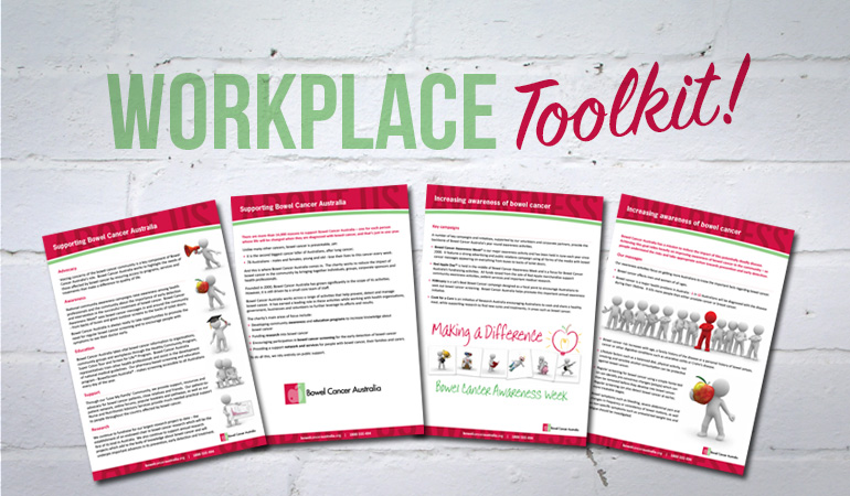 Bowel Cancer Australia Education Workplace Toolkit 770