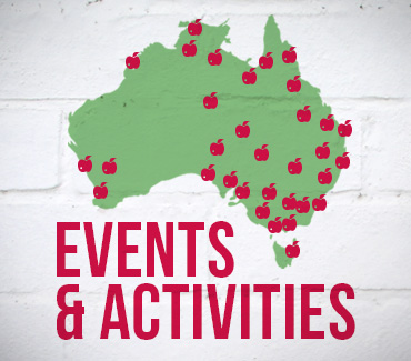 Bowel Cancer Australia Events Activities Map