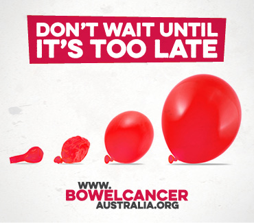 Beat Bowel Cancer:::Don't Wait Until Its Too Late (1-28 Feb)