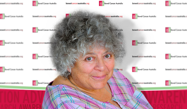 Bowel Cancer Australia Supporters-Miriam-Margolyes 770