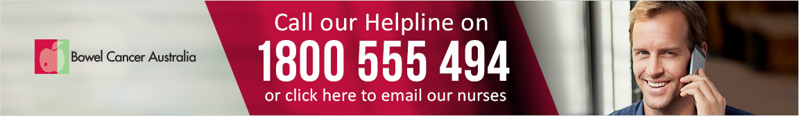 Helpline Bowel Cancer Australia