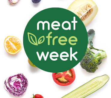 Meat Free Week:::Eat Well. Live Well. Be Well.