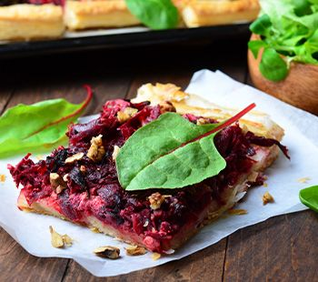 French Beetroot Tarte