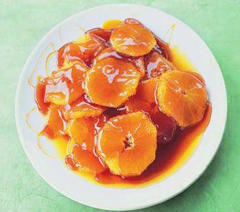 Caramel Sauced Oranges