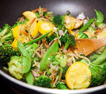 Apple Veggie Stir Fry