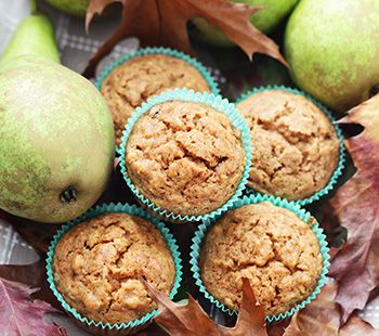 Pear and Muesli Muffins