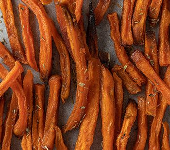 Crunchy Maple Sweet Potatoes