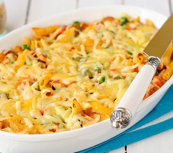 Pasta Bake ~ High Fibre