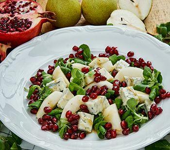 Twisted Pomegranate Salad