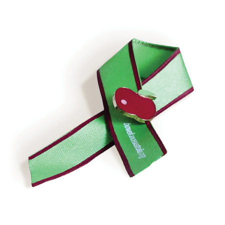 Large Red Donation Paper Ribbons 2 Packs - 100 Ribbons